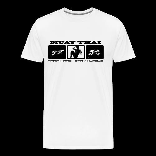 Train Hard, Stay Humble - Men's Premium T-Shirt