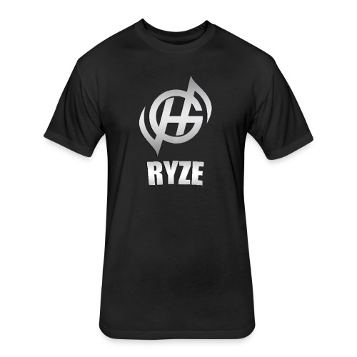 Haunted Ryze T-Shirt - Fitted Cotton/Poly T-Shirt by Next Level