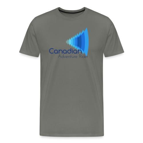 Canadian Adventure Rider - Men's Premium T-Shirt