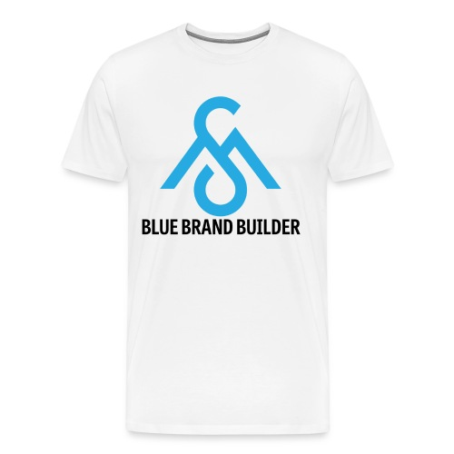 Blue Brand Builder Tee - Men's Premium T-Shirt