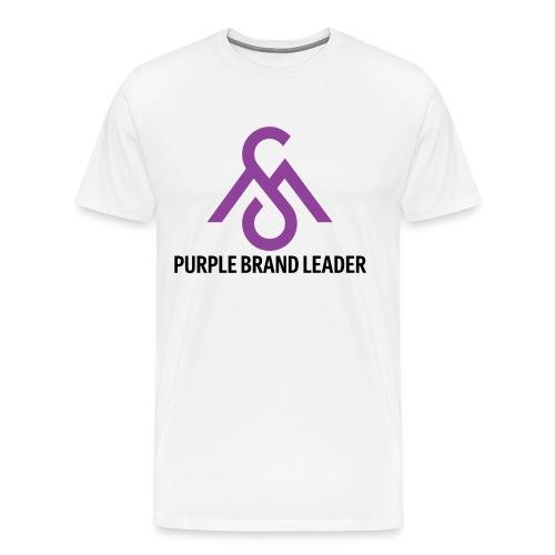 Purple Brand Leader Tee - Men's Premium T-Shirt