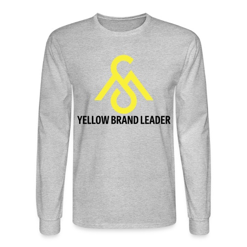 Yellow Brand Leader-Long Sleeve - Men's Long Sleeve T-Shirt