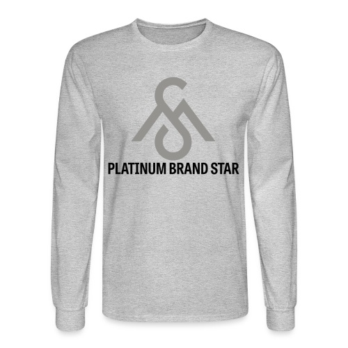 Platinum Brand Star-Long Sleeve - Men's Long Sleeve T-Shirt