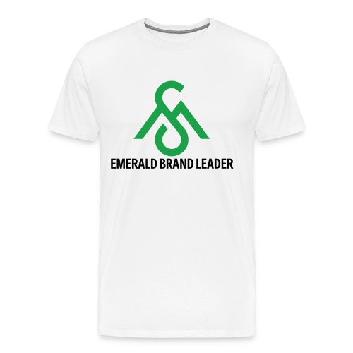 Emerald Brand Leader Tee - Men's Premium T-Shirt