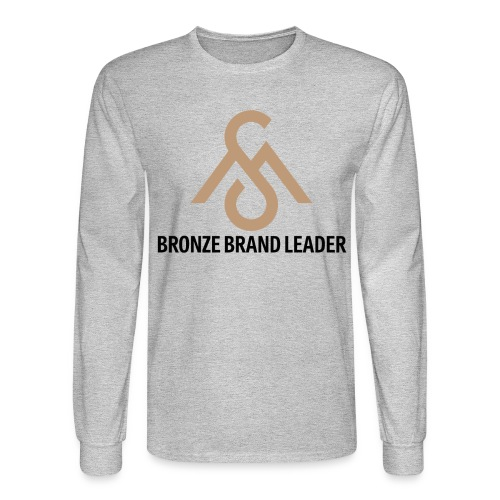 Bronze Brand Leader-Long Sleeve - Men's Long Sleeve T-Shirt