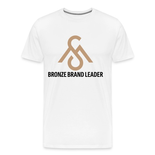 Bronze Brand Leader Tee - Men's Premium T-Shirt