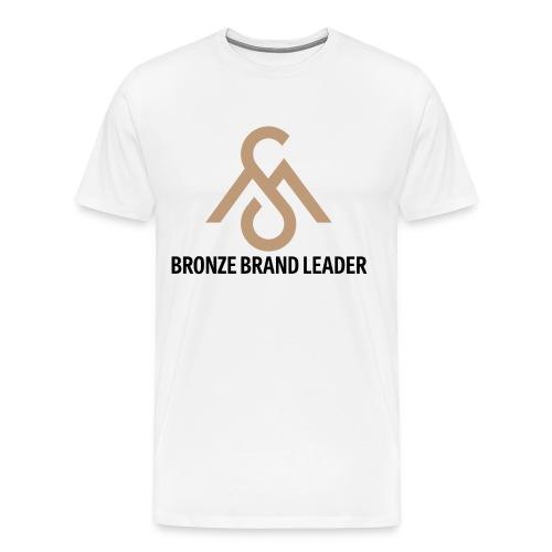 Bronze Brand Leader Tee - Men's Premium T-Shirt