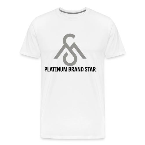 Platinum Brand Star Tee - Men's Premium T-Shirt
