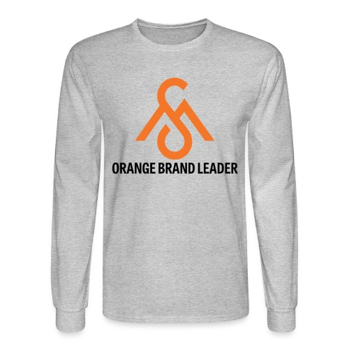 Orange Brand Leader-Long Sleeve - Men's Long Sleeve T-Shirt