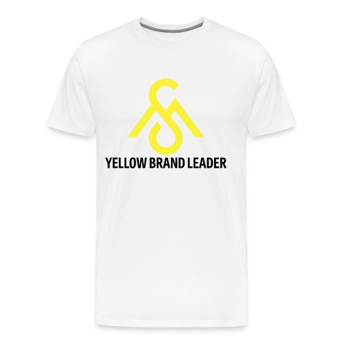 Yellow Brand Leader Tee - Men's Premium T-Shirt