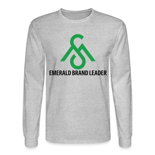 Emerald Brand Leader-Long Sleeve - Men's Long Sleeve T-Shirt
