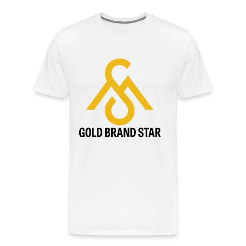 Gold Brand Star Tee - Men's Premium T-Shirt