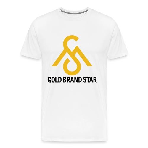 Gold Brand Star Tee - Men's Premium T-Shirt