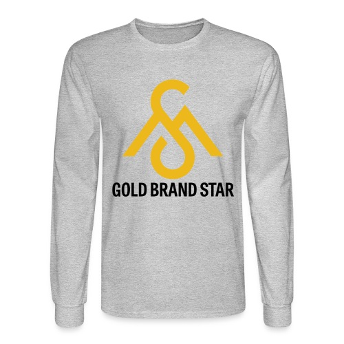 Gold Brand Star-Long Sleeve - Men's Long Sleeve T-Shirt