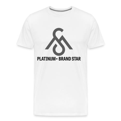 Platinum+ Brand Star Tee - Men's Premium T-Shirt