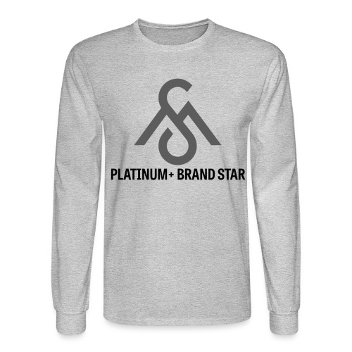 Platinum+ Brand Star-Long Sleeve - Men's Long Sleeve T-Shirt