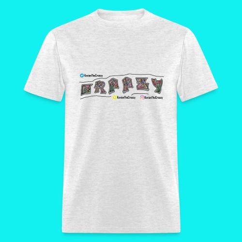 (White) Male // CRAAZY // Original - Men's T-Shirt