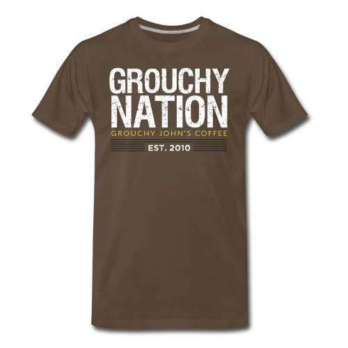 Grouchy Nation Spreadshirt Tee - Men's Premium T-Shirt