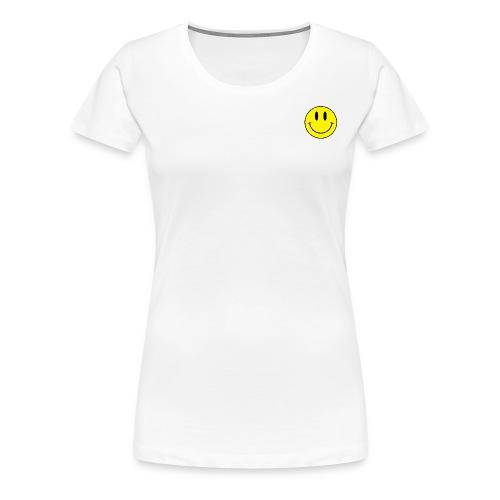 smiley shirt tee - Women's Premium T-Shirt