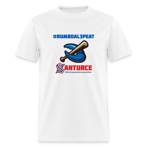 rumbo al 3peat - Men's T-Shirt