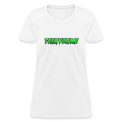 Toxic Volume T-Shirt (Women's Fit) - Women's T-Shirt