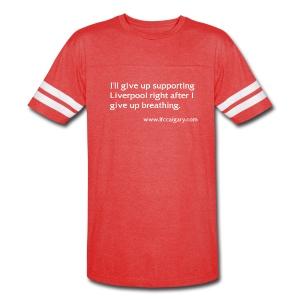 LFC Calgary Breathing Striped - Vintage Sport T-Shirt