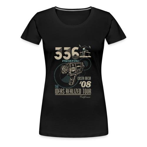 Women's Concert Tee (Blue) - Women's Premium T-Shirt