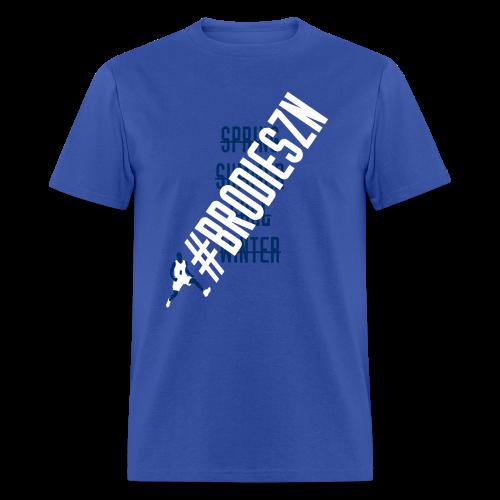 #BrodieSZN - Blue - Men's T-Shirt