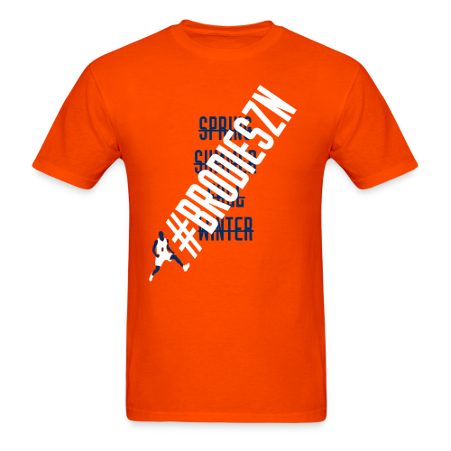 #BrodieSZN - Orange - Men's T-Shirt