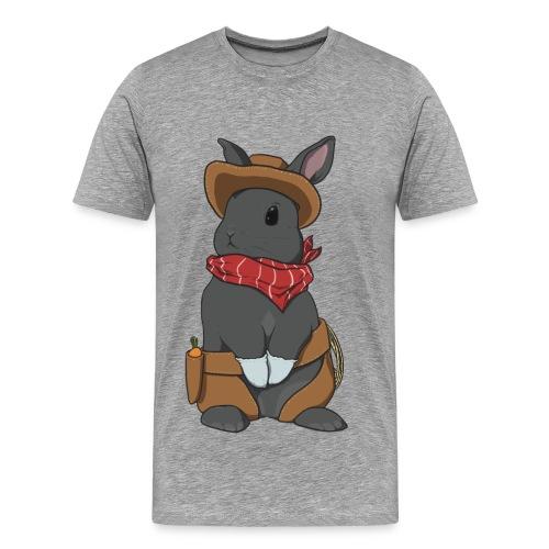 Cowboy Bunny Shirt - Men's Premium T-Shirt