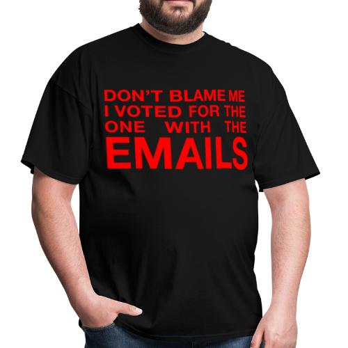 Don't Blame Me - Voted Hillary - Men's T-Shirt