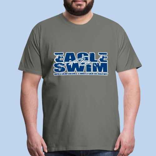Eagle Swim men's asphalt premium tee - Men's Premium T-Shirt