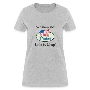 Don't Blame Me - Womens Classic T-shirt - Women's T-Shirt