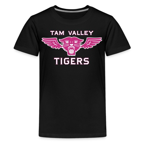 Tam Tigers 2017 Girls Indoor Soccer Shirt - Kids' Premium T-Shirt