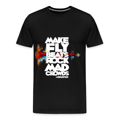 Make Fly Beats KID Tee - Men's Premium T-Shirt