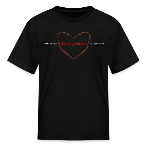 Men's Godly Love - Kids' T-Shirt