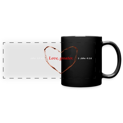Godly Love Coffee Mug - Full Color Panoramic Mug