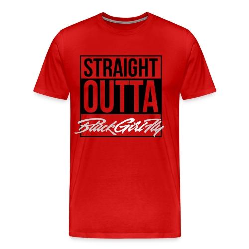 Straight Outta BGF - Men's Premium T-Shirt