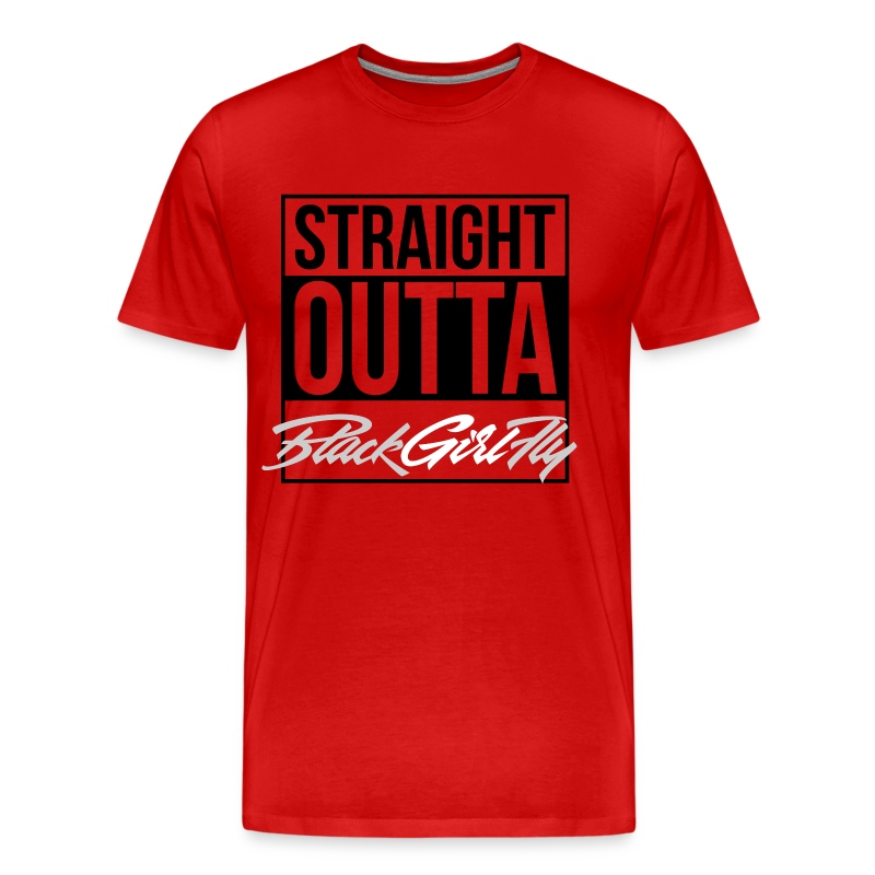 Straight Outta BGF - Men's Premium T-Shirt