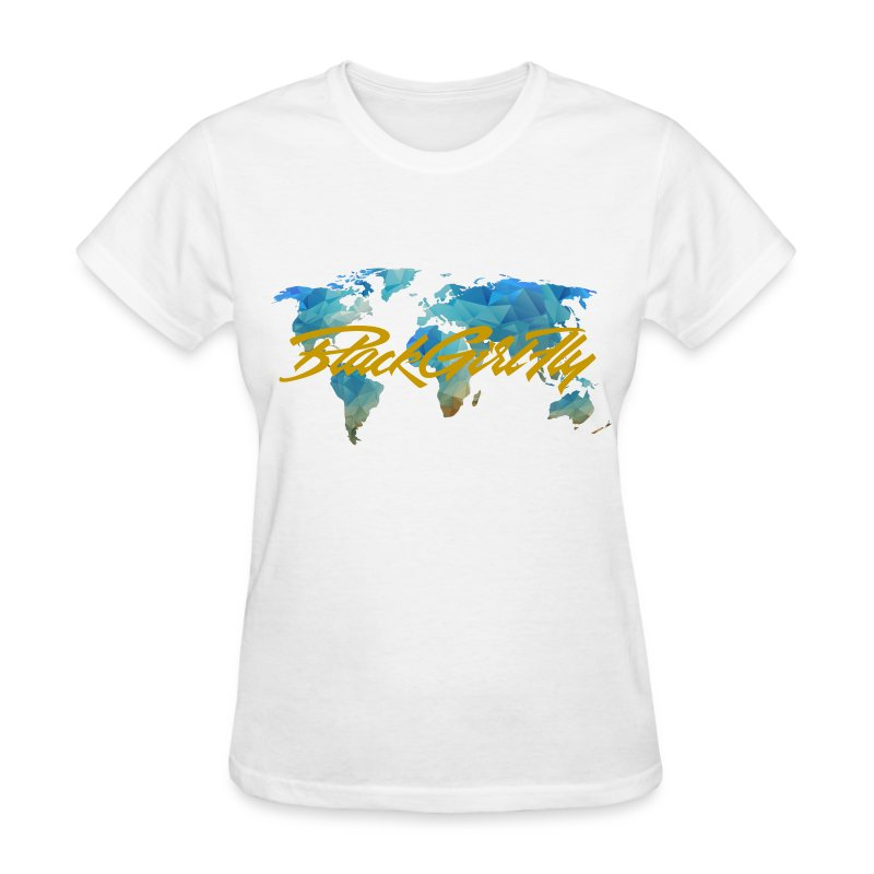 map-transparent.png - Women's T-Shirt