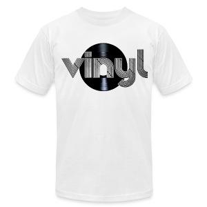 Vinyl - Men's Fine Jersey T-Shirt