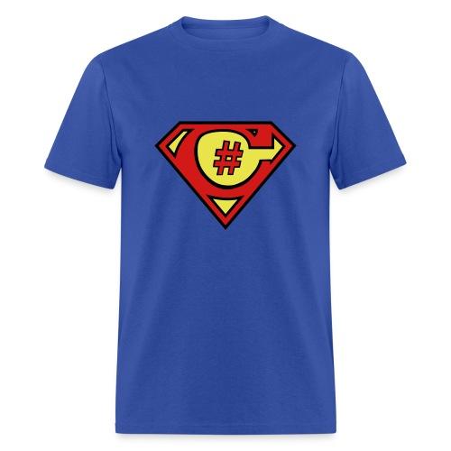 C# Hero Man - Men's T-Shirt