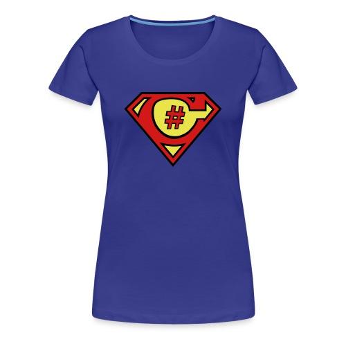 C# Hero Woman - Women's Premium T-Shirt
