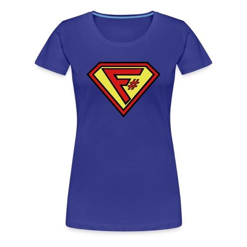 F# Hero Woman - Women's Premium T-Shirt