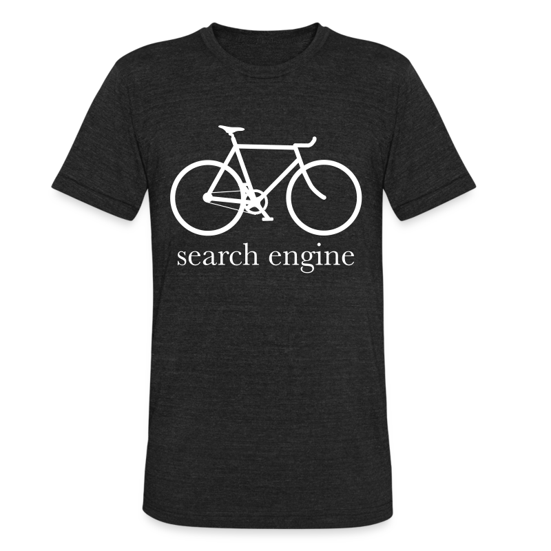 search_engine - Unisex Tri-Blend T-Shirt by American Apparel