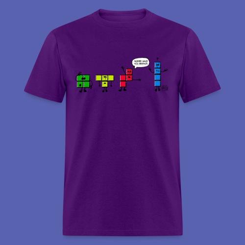 Where is Stick? - Men's T-Shirt