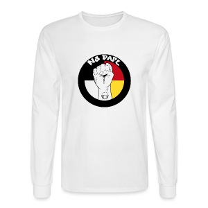 NoDAPL (Mens Long Sleeve) bv Kardena Manycows - Men's Long Sleeve T-Shirt