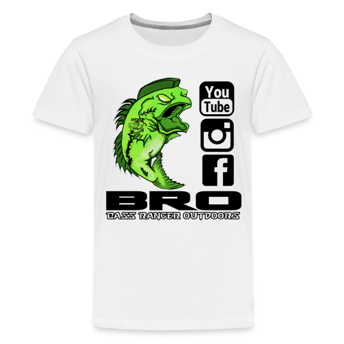 Kid's T-Shirt Front BRO LOGO - Kids' Premium T-Shirt