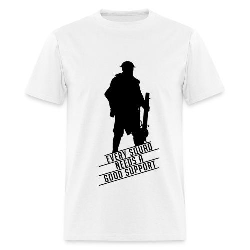 Good Support - Battlefield 1 (BLACK LOGO) - Men's T-Shirt