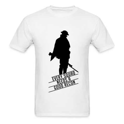 Good Recon - Battlefield 1 (BLACK LOGO) - Men's T-Shirt